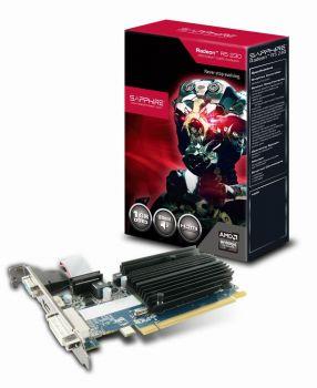 Radeon R5 230 Grafikkarte mit 1GB DDR3 Speicher - 1x VGA 1x DVI 1x HDMI