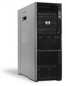 HP Workstation Z600 PC Computer - Intel Xeon 4x 2,4 GHz DVD-Brenner