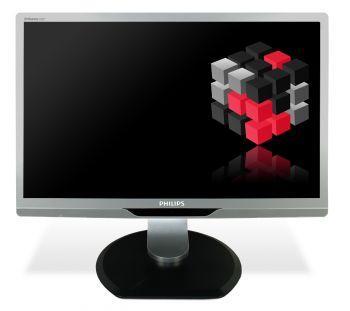 Philips Brilliance 220P - 22 Zoll TFT Flachbildschirm Monitor - schwarz / silber