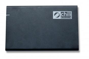 chiliGreen UltraSlim - Externes USB 3.0 Festplattengehäuse mit 2,5 Zoll