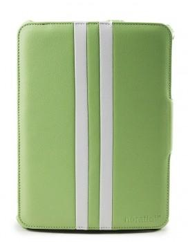 Noratio Smart Cover - Retro Style für Galaxy Tab 3 / 4 10.1 - Grün