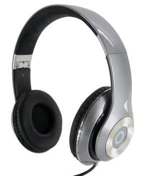 QSS Dynabass Stereo Kopfhörer / Headset - Silber