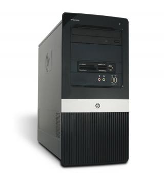 HP DX 2400 Tower PC Computer - Intel Pentium Dual Core-E2160 2x 1,8 GHz DVD-Brenner