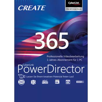 PowerDirector 365 12 Monate - ESD