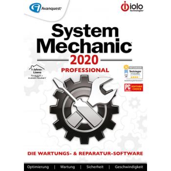 System Mechanic 2020 Professional - 12 Monate / unbegrenzte Geräte - ESD