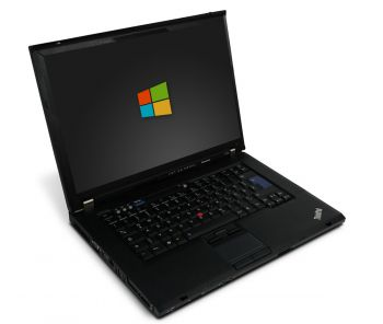 Lenovo ThinkPad T500 15,4 Zoll Notebook Intel Core 2 Duo-T9400 2x 2,53 GHz DVD-Brenner