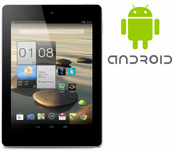 Acer Iconia A1-811 7,9 Zoll Tablet PC - 4x 1,2 GHz 1GB 8GB - Android 4.2 - Weiss