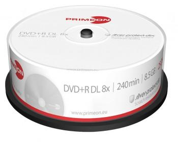 PrimeOn - DVD+R Double Layer Rohlinge - 8,5GB