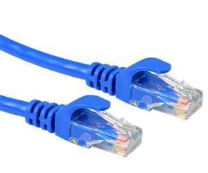 RJ45 Patchkabel Netzwerkkabel 7,5 Meter Cat7 S/FTP PiMF - Blau