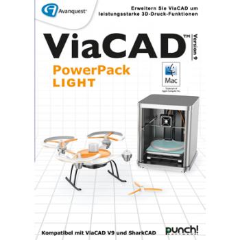 Avanquest ViaCAD PowerPack LIGHT (Mac) add-on - ESD