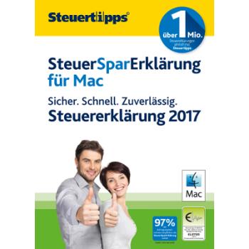SteuerSparErklärung MAC 2018 (für Steuerjahr 2017) - ESD