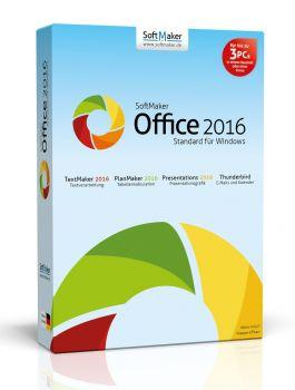 Office Standard 2016 - 3PCs - SoftMaker