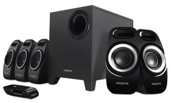 Creativ Inspire T6300 Home Entertainment 5.1 Sound-System - Lautsprecher