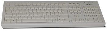 Acer PR1101U USB-Tastatur - weiß