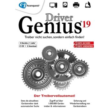 Driver Genius 19 3 PCs 12 Monate - ESD