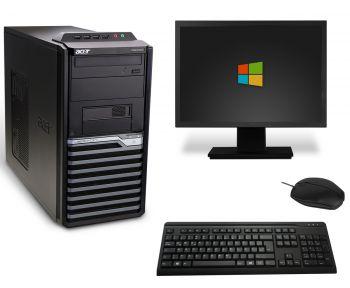 Acer Veriton M4610G Tower PC Computer Bundle - Intel Core i3-2120 2x 3,3GHz
