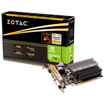Zotac GeForce GT 730 4GB DDR3 - 1x VGA 1x DVI 1x HDMI - Low Profil
