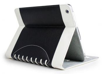 Noratio Smart Cover Football Style für Apple iPad Air 2 - schwarz