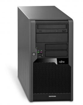Fujitsu Esprimo P5731 Tower PC Computer - Intel Pentium Dual Core-E5700 2x 3 GHz