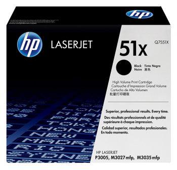 HP LaserJet Tonner 51X Q7551X OVP - Schwarz