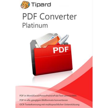 Tipard PDF Converter Platinum - lebenslange Lizenz - ESD