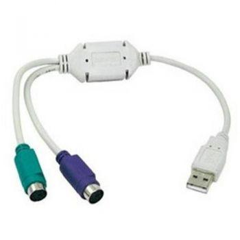 USB auf 2x PS/2 Adapter für Tastatur und Maus