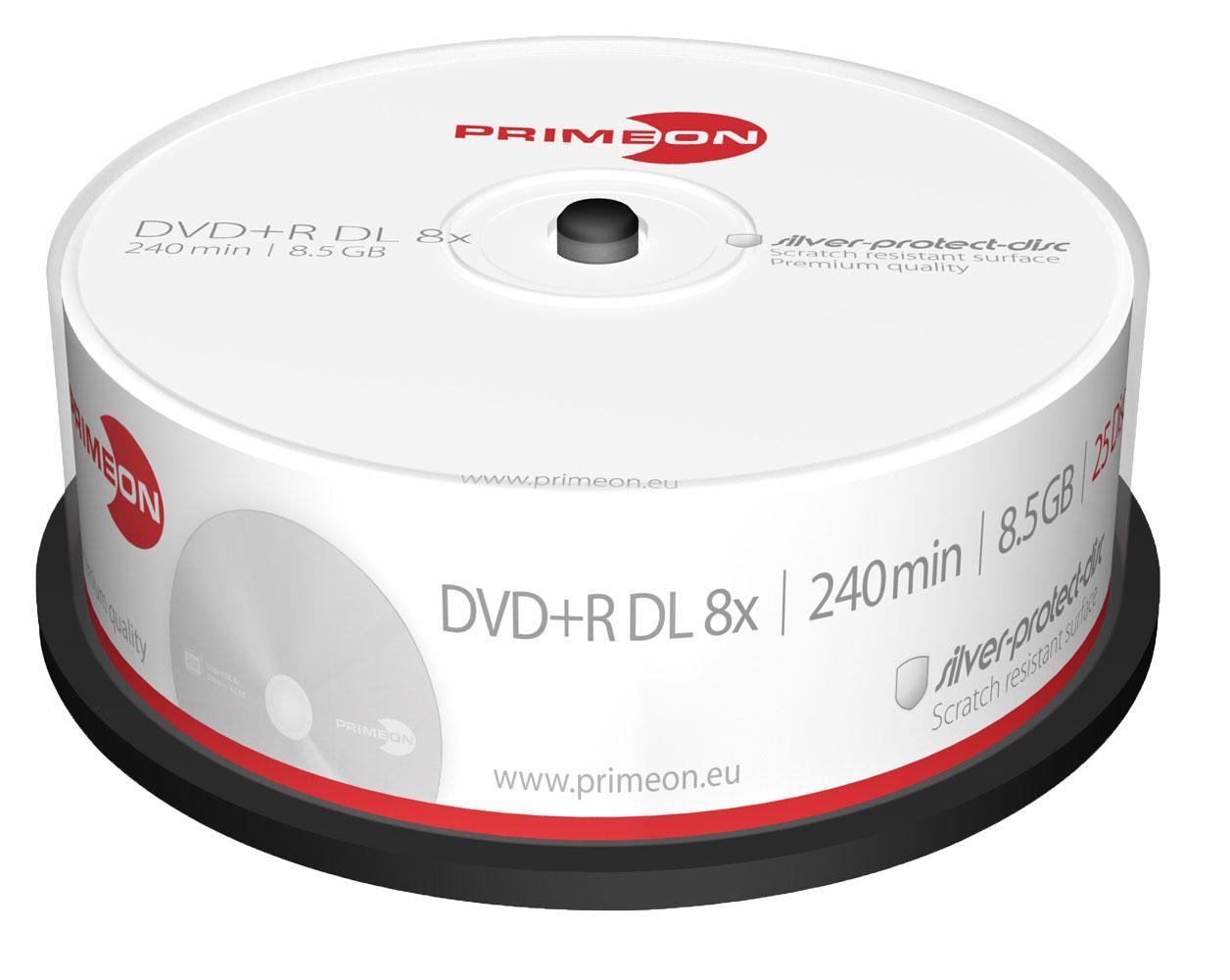 25er pack primeon dvd rohlinge g nstig kaufen. Black Bedroom Furniture Sets. Home Design Ideas