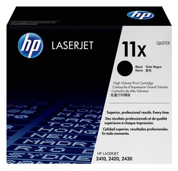 HP LaserJet Tonner 11X Q6511X OVP - Schwarz