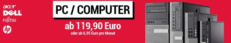 Gebraucht PCs / Computer günstig kaufen