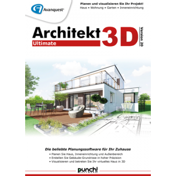 Architekt 3D 20 Ultimate - ESD