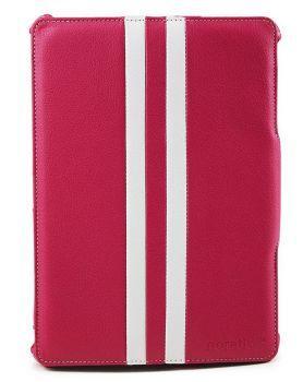 Noratio Smart Cover - Retro Style für Galaxy Tab 3/4 10.1 - rosa