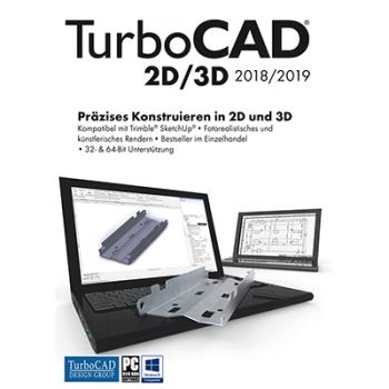 TurboCAD 2D/3D 2018 - ESD