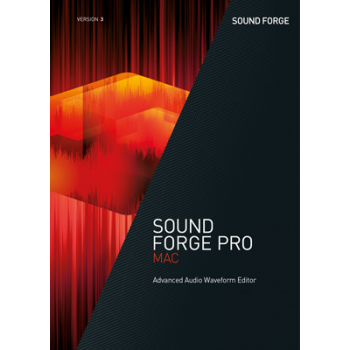 SOUND FORGE Pro Mac 3 - ESD