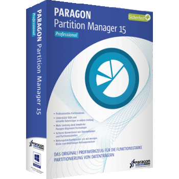 Paragon Partition Manager 15 Professional - ESD