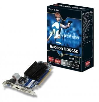Sapphire - Radeon HD6450 2GB DDR3 - 1x VGA 1x DVI 1x HDMI