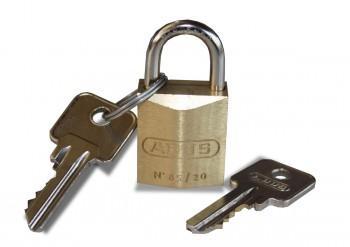 ABUS No. 85/20 Sicherheitsschloss für PC und mehr