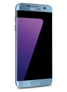 Samsung Galaxy S7 Edge - 5,5 Zoll Smartphone - Blau - 64 GB 4G Android 7
