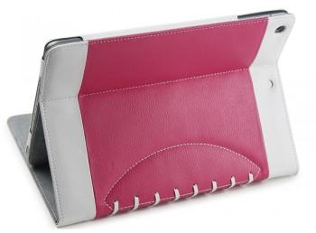 Noratio Smart Cover - Football Style für Apple iPad Air - rosa