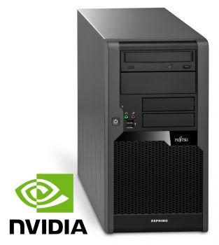 Fujitsu Esprimo P5731 Tower PC Computer  Intel Pentium Dual Core-E5500 2x 2,8 GHz DVD-Brenner