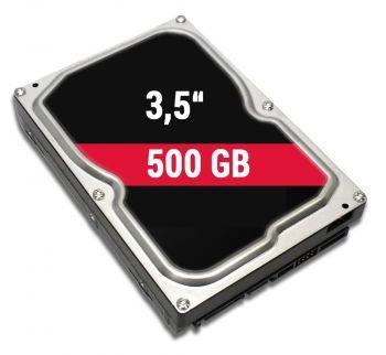 500 GB HDD Festplatte 3,5 Zoll (inkl. Einbau)
