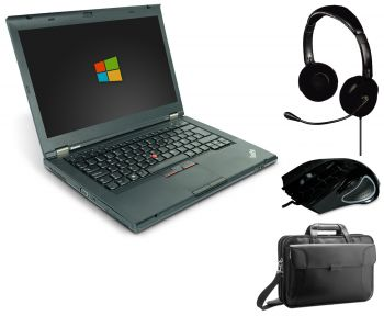 Lenovo ThinkPad T430 14 Zoll Laptop Notebook Gaming Bundle - Intel Core i5-3320M 2x 2.6 GHz DVD-Bren