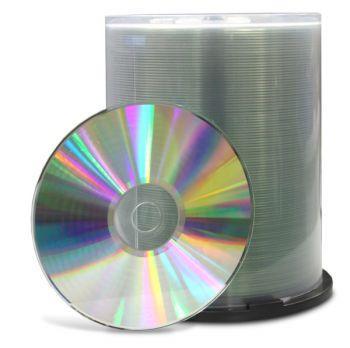 CD Rohlinge 100er Pack Spindel - unbedruckt