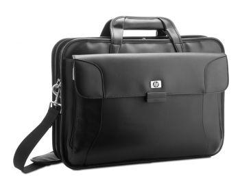 HP Leder Notebooktasche RR316AA - für bis zi 17,3 Zoll Geräte - schwarz