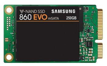 Samsung 860 EVO 250 GB mSATA SSD Festplatte