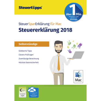 SteuerSparErklärung Selbstständige 2019 (für Steuerjahr 2018) - ESD