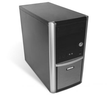 Exone 50978 Tower PC Computer - Intel Pentium Dual Core-E5400 2x 2,7 GHz