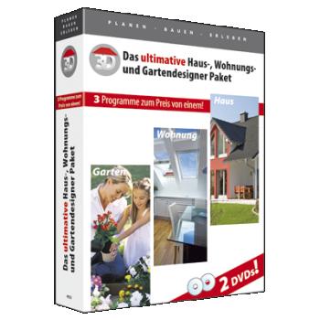 Das ultimative Haus-, Wohnungs-, Gartendesigner Paket - ESD