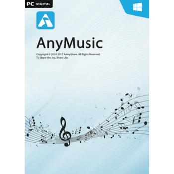 AnyMusic für Windows - 1 Jahr Laufzeit - ESD