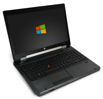 HP Elitebook 8560w 15,6 Zoll Full-HD Laptop Notebook - Intel Core i7-2820QM 4x 2,3 GHz