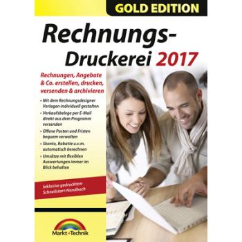 Markt+Technik Rechnungsdruckerei 2017 Gold Edition - ESD
